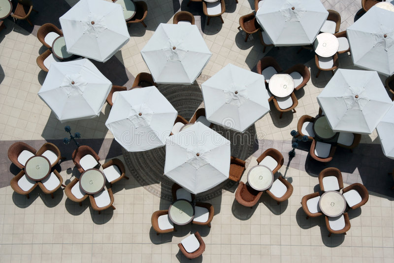 напольный ресторан 2 стоковая фотография
