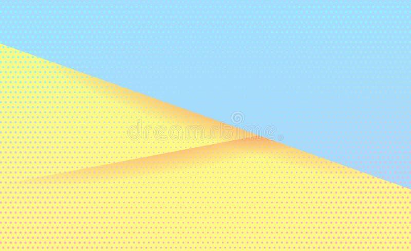 Напористая предпосылка конспекта вектора пастелей стоковая фотография rf