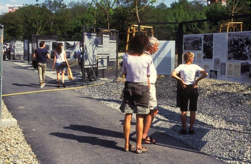 Напольная выставка в Берлине стоковые фото