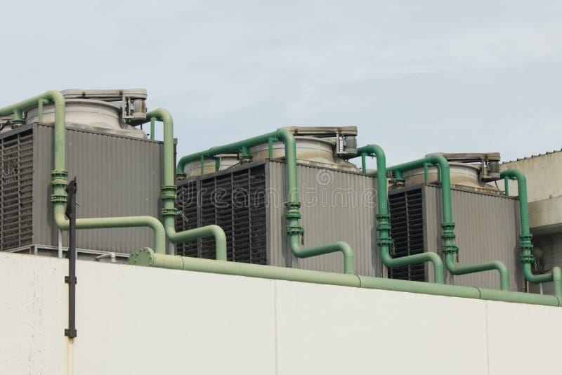 Напольный блок кондиционера воздуха стоковое фото rf