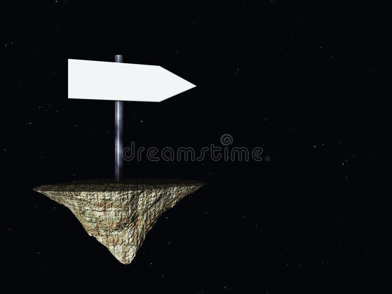 направление иллюстрация вектора