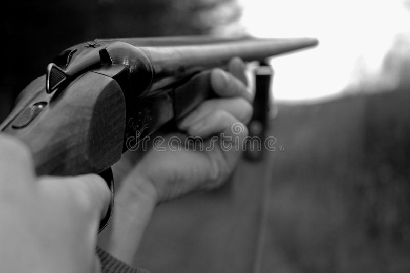 направляет охотник стоковая фотография