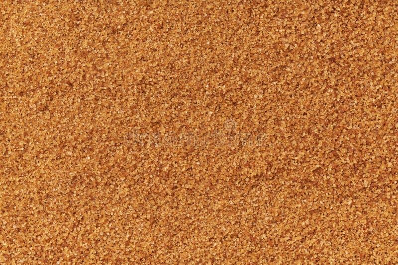 напудренный конец-вверх предпосылки текстуры желтого сахарного песка Плоское положение стоковые фотографии rf