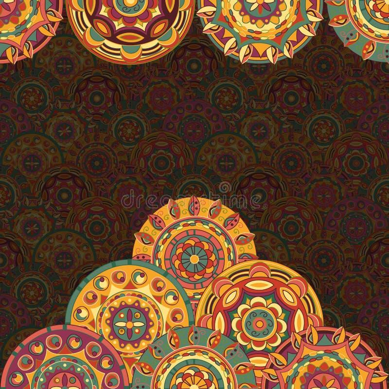 Download Нарисованная вручную предпосылка с кругами Иллюстрация вектора - иллюстрации насчитывающей потеха, круг: 33736131