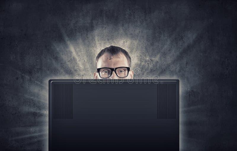 нарисованная наркоманией белизна вектора интернета иллюстрации руки стоковое фото rf