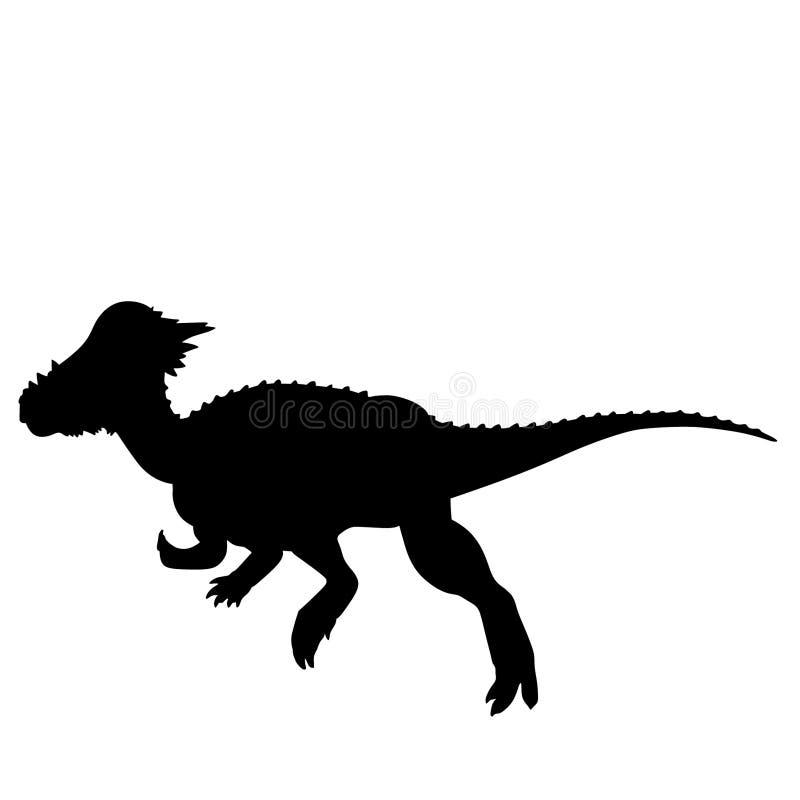 Нарисованная рука, вектор eps вектора динозавра Dino, Eps, логотип, значок, crafteroks, иллюстрация силуэта для различных польз бесплатная иллюстрация