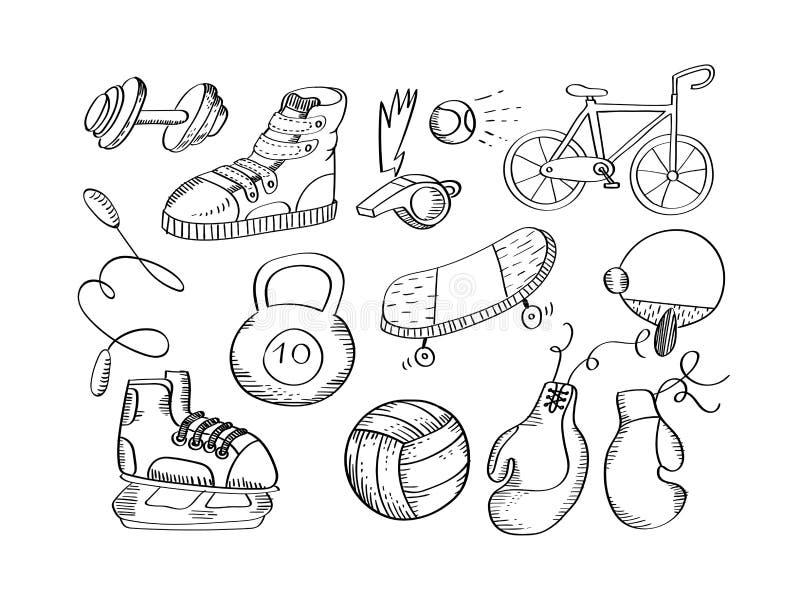 рисунок спортивные принадлежности карандашом испокон веков