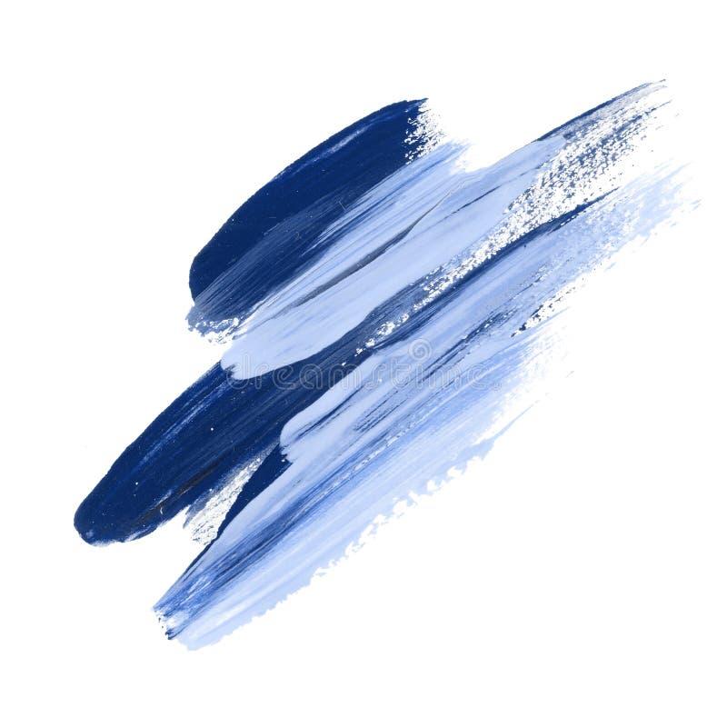 Нарисованный рукой акриловый brushstroke дня бесплатная иллюстрация