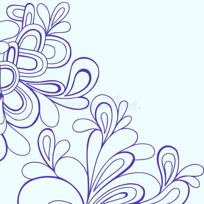 нарисованный doodles вектор руки иллюстрация вектора