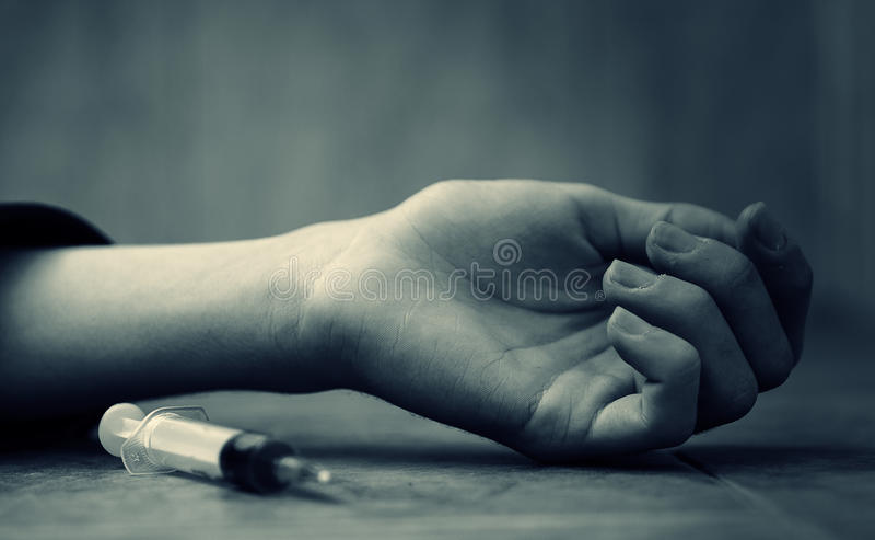 Наркомания детей стоковое фото