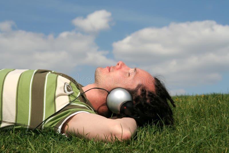 наслаждаться нот человека стоковая фотография rf