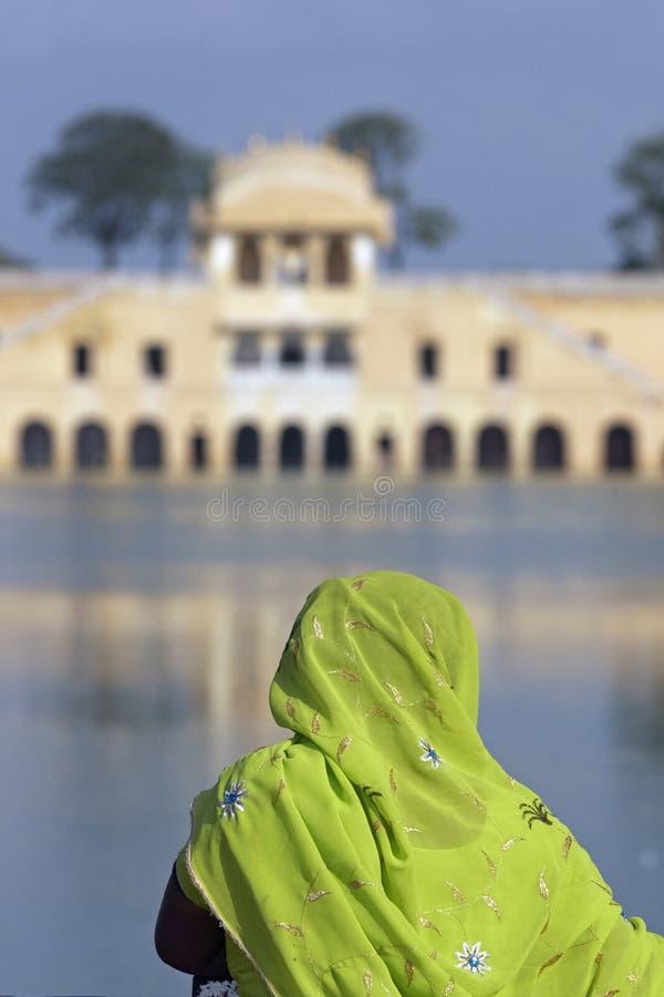 наследие Индия цвета стоковая фотография rf