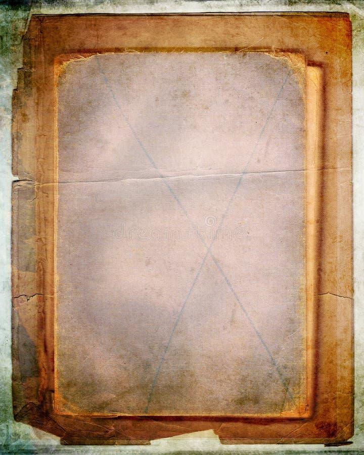 наслоенный книгой старый сбор винограда бумаг стоковое изображение