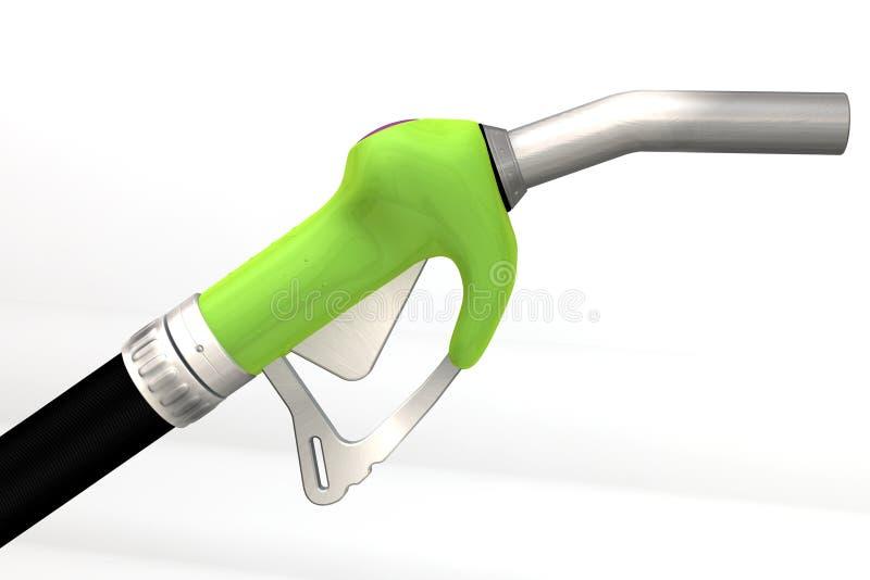 насос сопла газа 3d представляет иллюстрация вектора