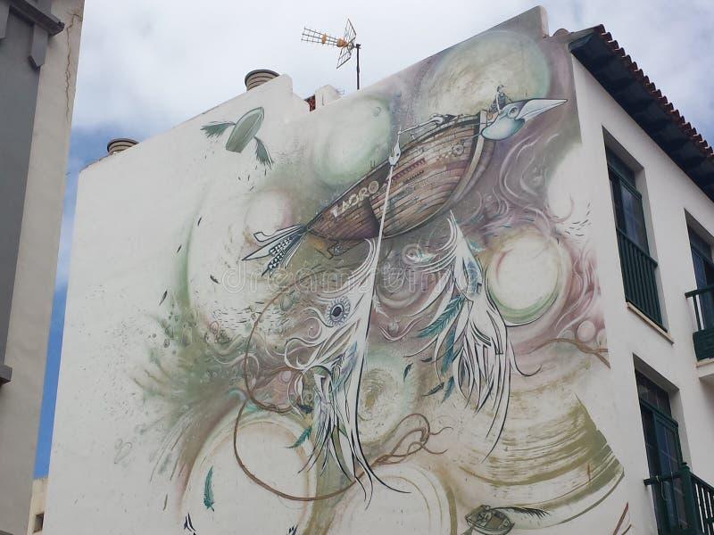 Настенная роспись Urbanite стоковые фото