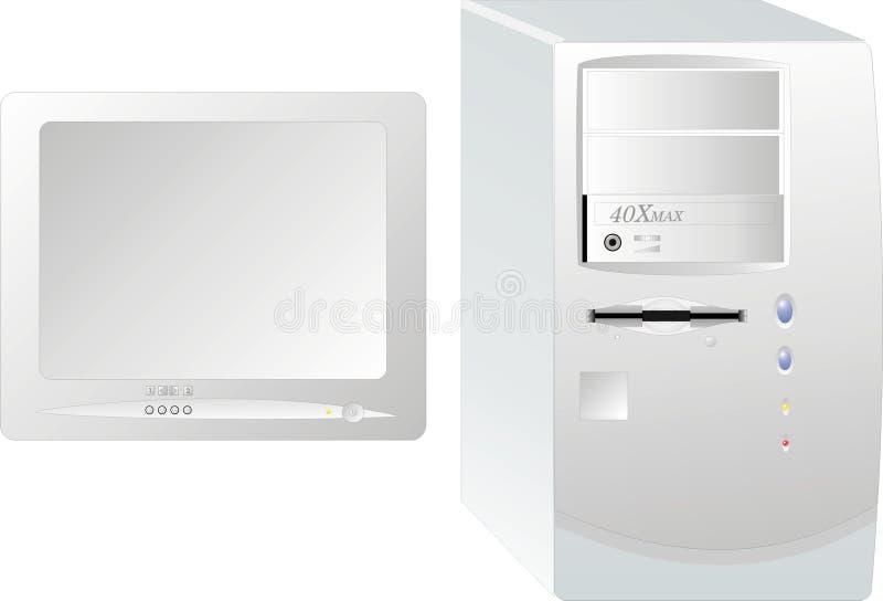 настольный компьютер компьютера бесплатная иллюстрация