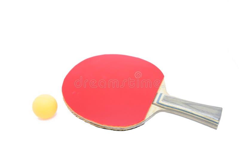 настольный теннис летучей мыши шарика стоковая фотография rf