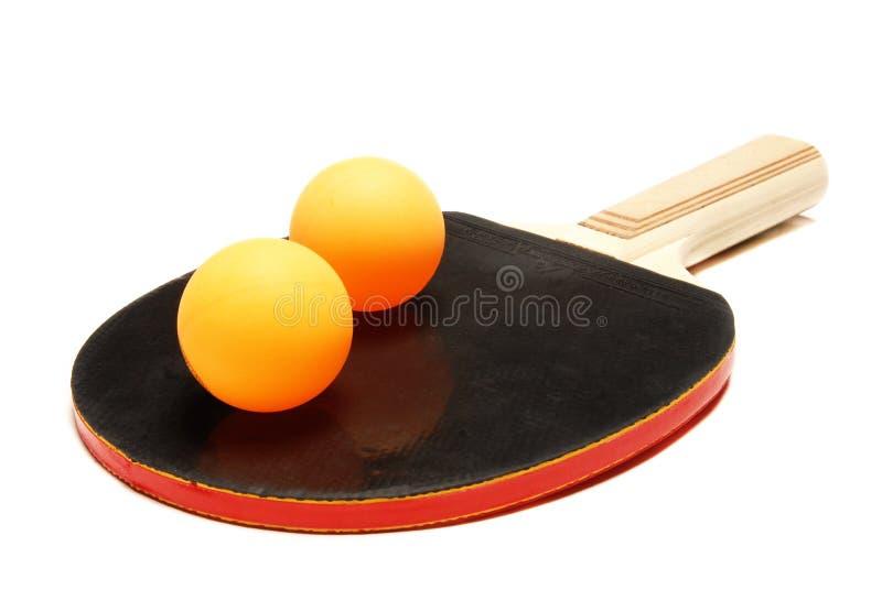 настольный теннис ракетки шарика стоковые фотографии rf