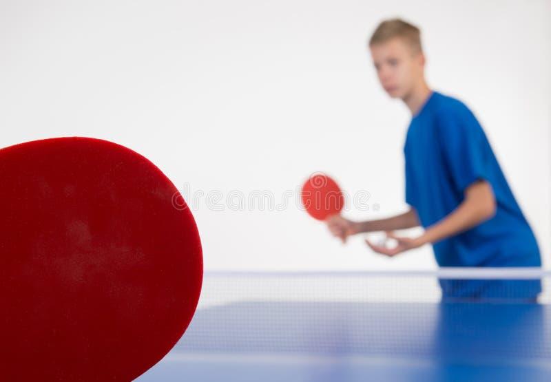 Настольный теннис Стоковое фото RF