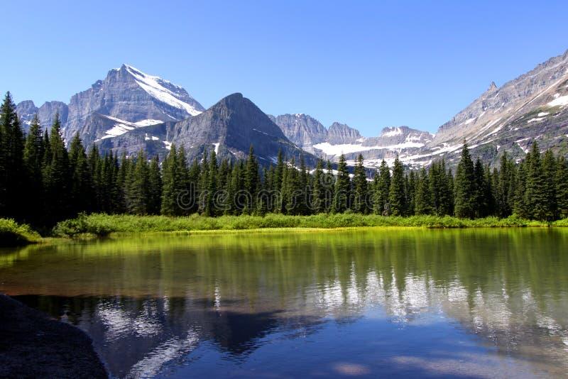 настоящее озеро стремительное стоковые фото