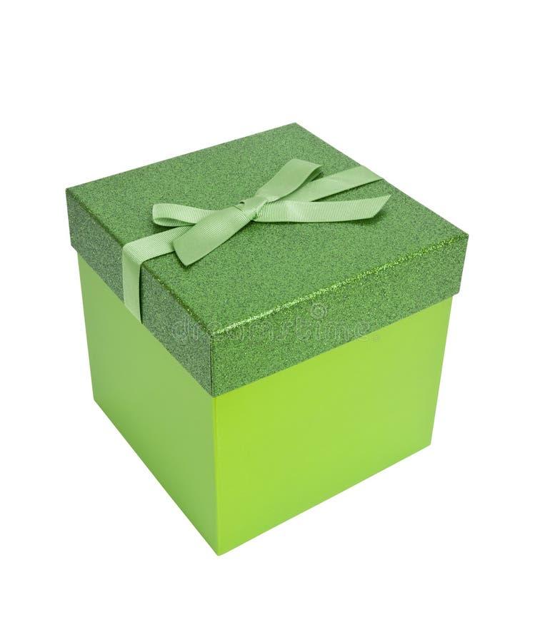 настоящий момент рождества зеленый стоковое фото