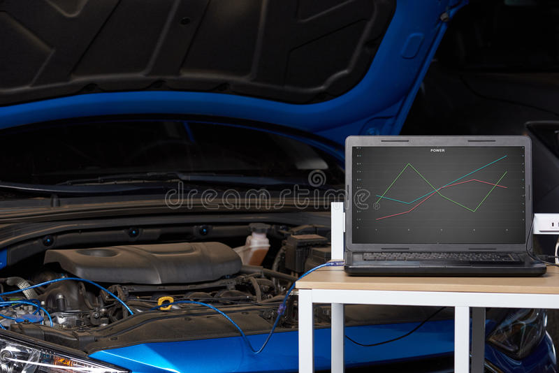 Настраивать обломока автомобиля стоковое фото rf