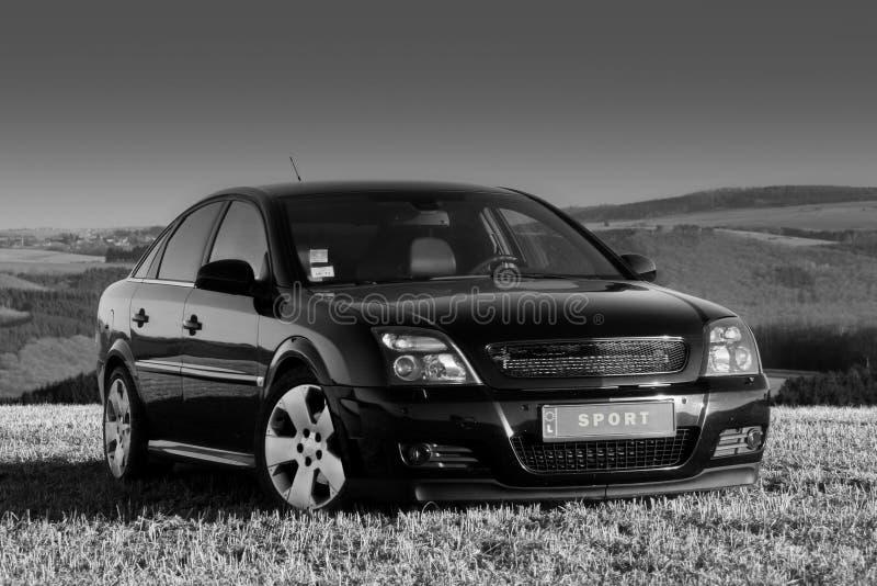 настроенный автомобиль стоковые фотографии rf