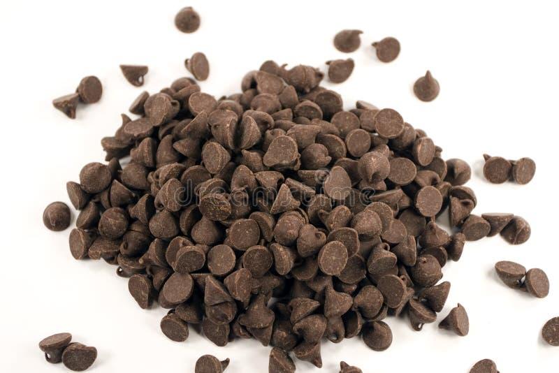насыпь шоколада стоковая фотография
