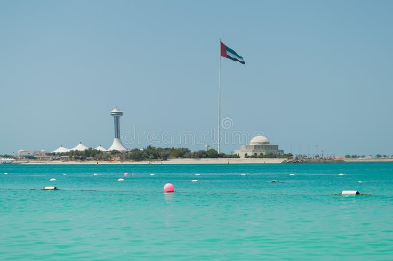 Наследие Абу-Даби стоковое фото rf
