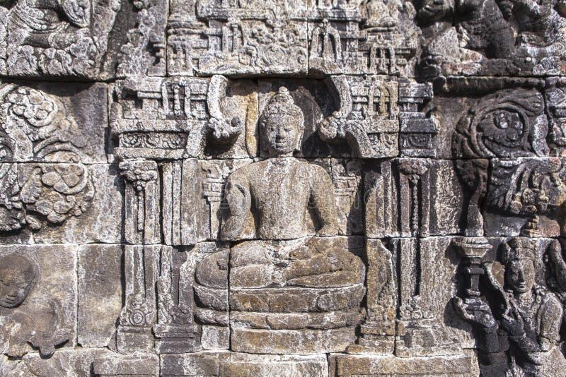 Наследие Borobudur в Yogyakarta, Индонезии стоковые фотографии rf