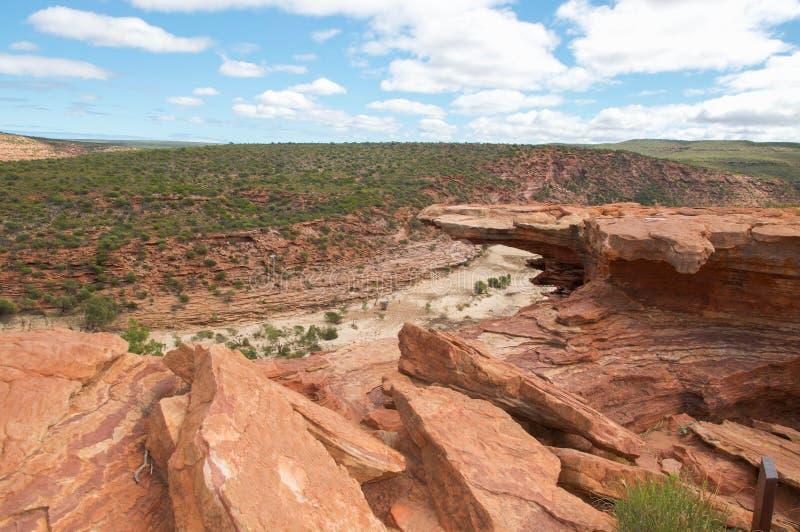 Наслоенные скалы: Kalbarri, западная Австралия стоковые фото
