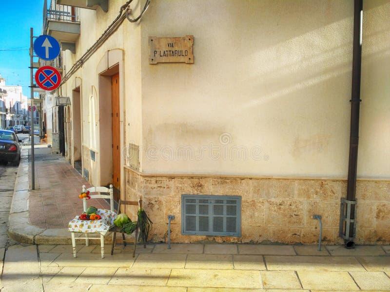Натюрморт в южной Италии стоковое изображение rf
