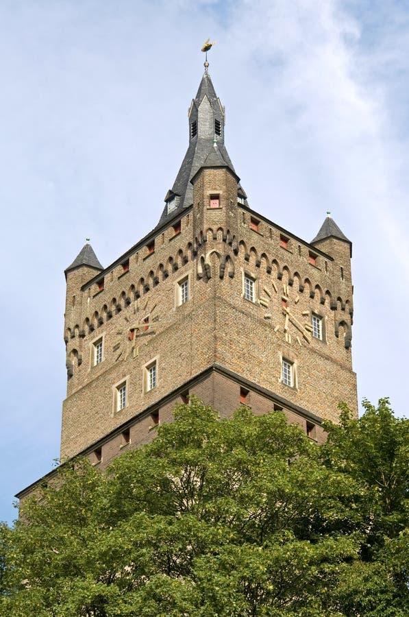 Натюрморт замка Schwanenburg, Kleve, Германии стоковая фотография