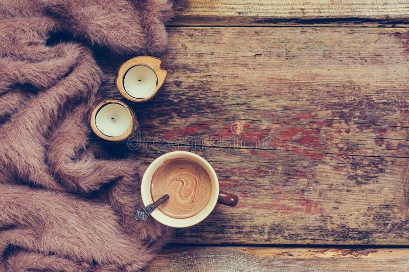 Натюрморт зимы уютный стоковое фото