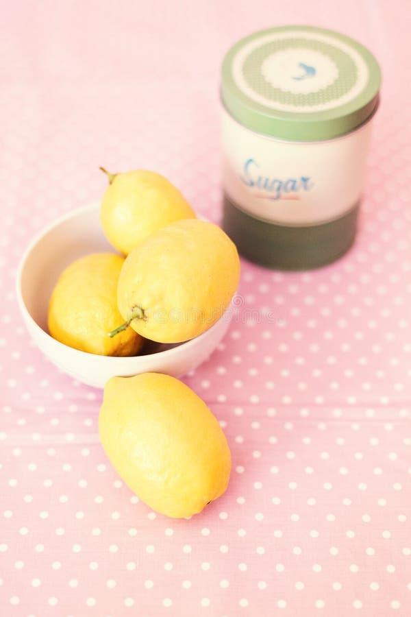 Натюрморт лимонов стоковые фото