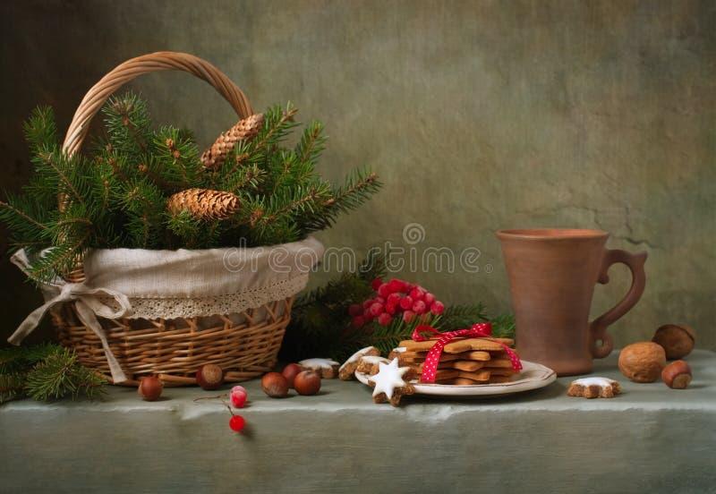 Натюрморт Кристмас стоковые фото