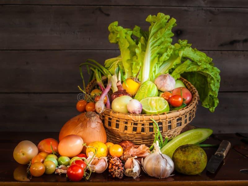 Натюрморт овоща смешивания стоковое изображение rf