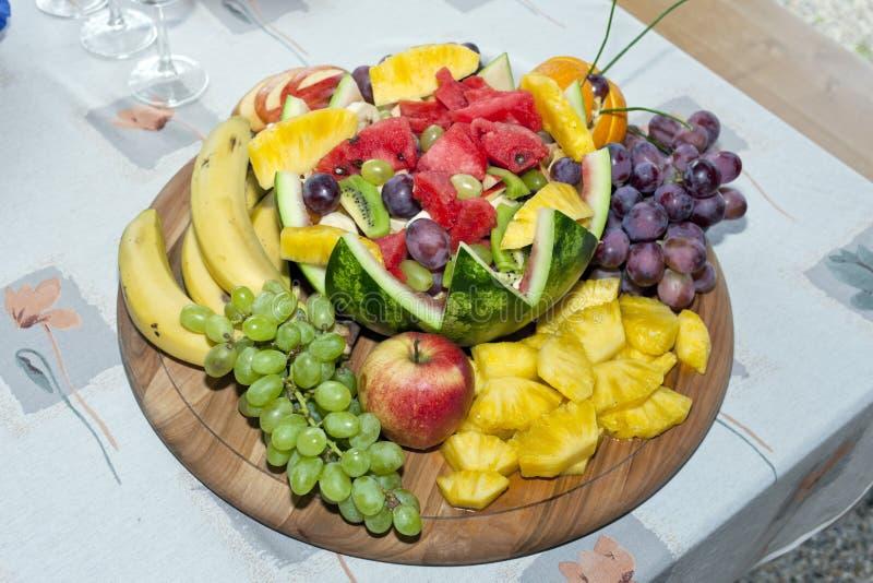 натюрморт плода с арбузом стоковое фото rf