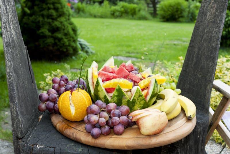натюрморт плода с арбузом стоковые изображения