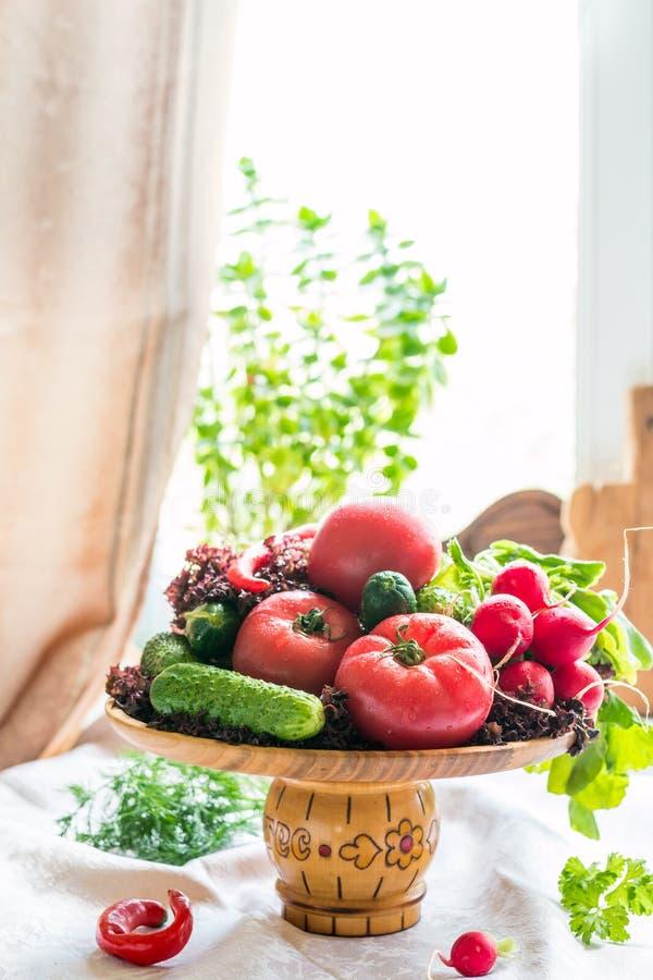 Натюрморт свежих vegatables стоковые фотографии rf