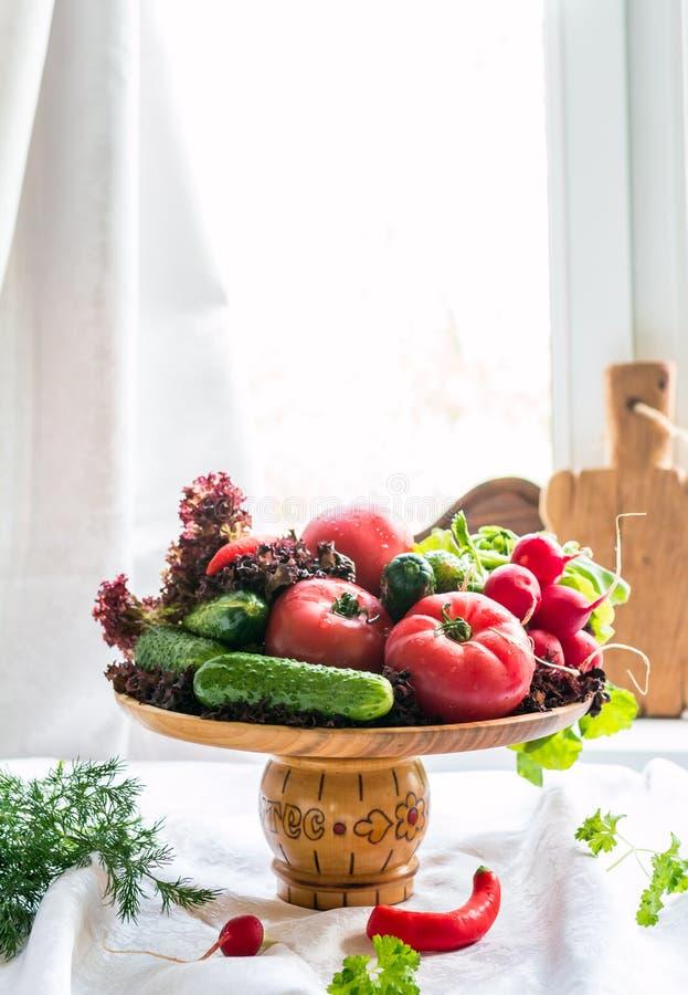 Натюрморт свежих vegatables стоковая фотография