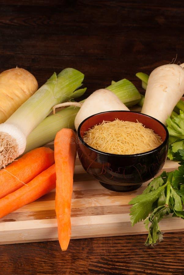 Ингридиенты супа стоковые изображения rf