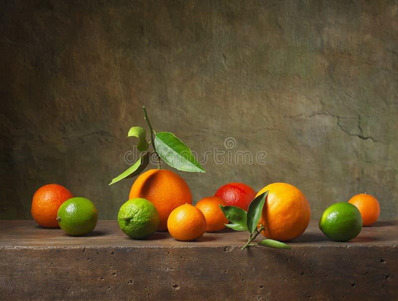 Натюрморт с плодоовощ стоковые фотографии rf