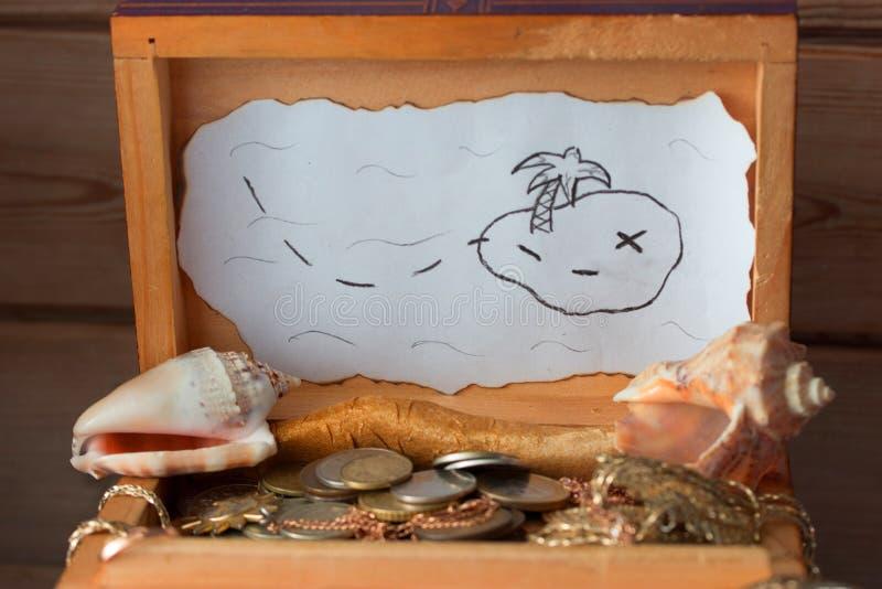Натюрморт с сокровищами, карточки, стоковые изображения rf