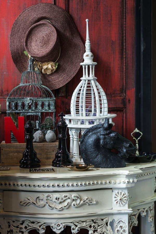 Натюрморт украшения, различных домашних родственных объектов стоковые фото