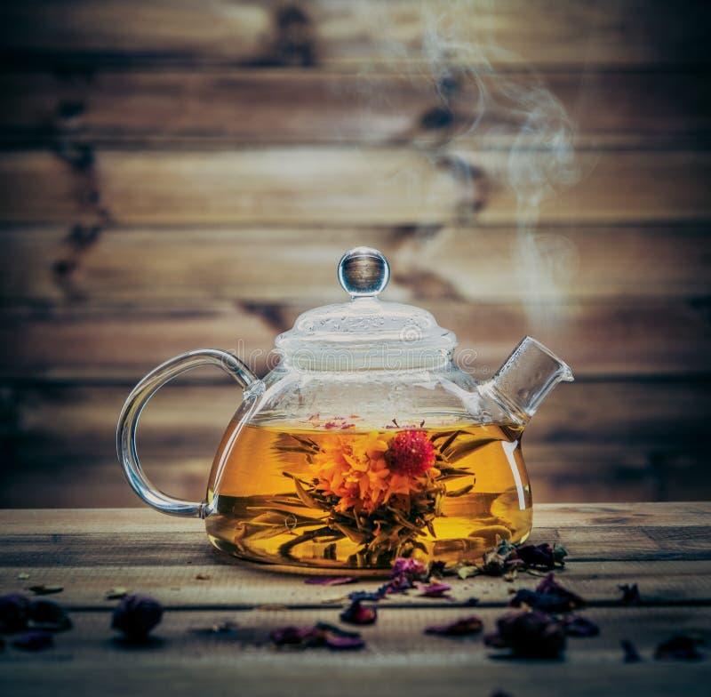 Натюрморт чая стоковое изображение