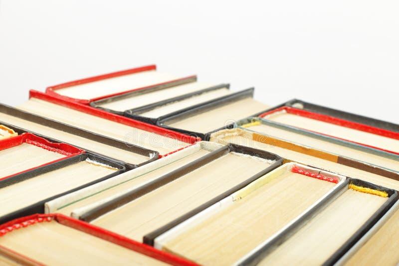 Наука и образование - группа в составе части крупного плана книга colorfull стоковые фото
