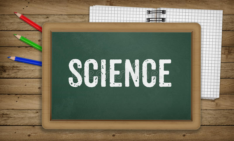 Наука на классн классном, концепция школы образования бесплатная иллюстрация