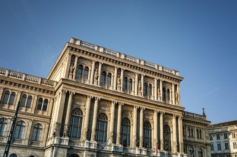 наука budapest академии стоковое фото rf