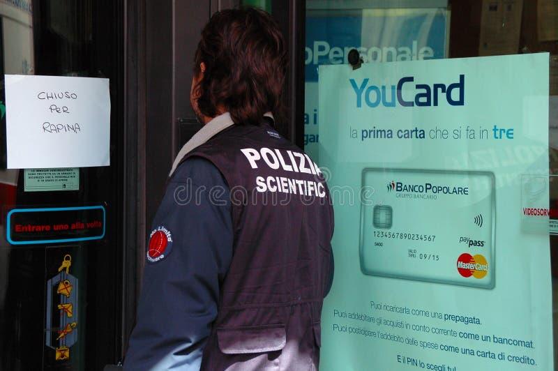 Научные полиции  стоковые изображения rf